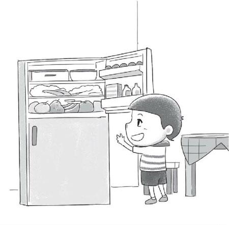 家里的大冰箱