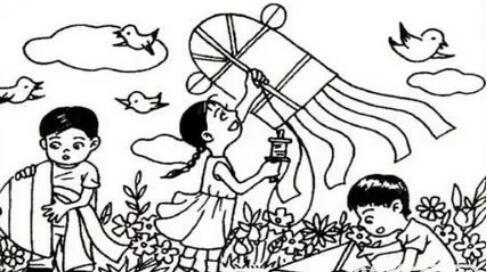 放风筝看图写话(3篇)