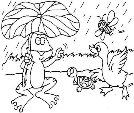 看图写话《下雨了》(2篇)
